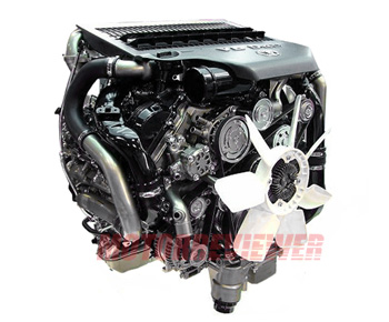 1VD-FTV 4.5L V8 D Engine