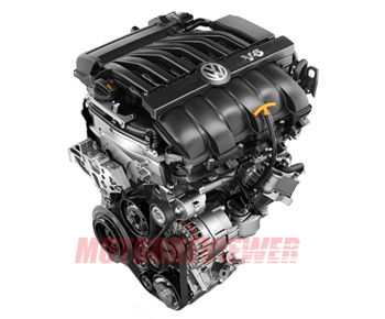 3.6 FSI VR6 EA390 Engine