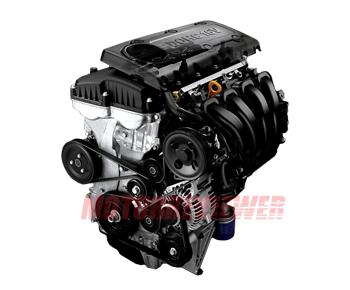 Hyundai KIA 2.4L Engine (Theta MFI/GDI) specs, problems, reliability, oil,  Santa Fe, Sonata | Hyundai 4 Cylinder Engine Diagram |  | MotorReviewer